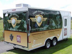 Dallas Cowboys Golf Club Custom Trailer