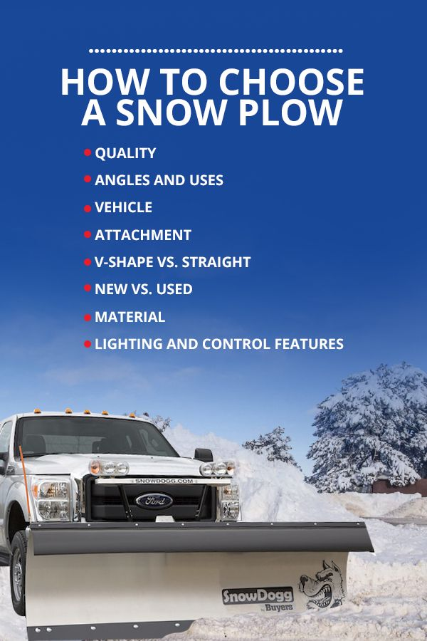 How to Choose a Snow Plow