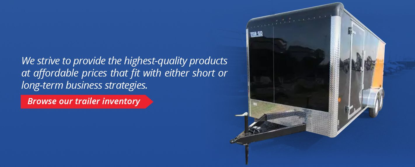 Browse Our Trailer Inventory