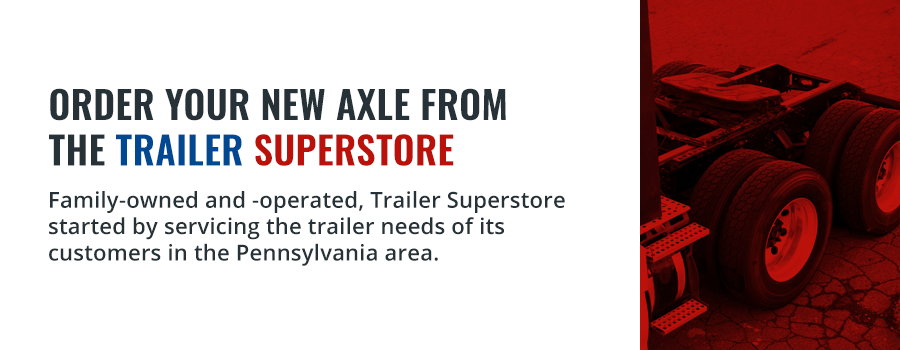 Axle From Trailer Superstore