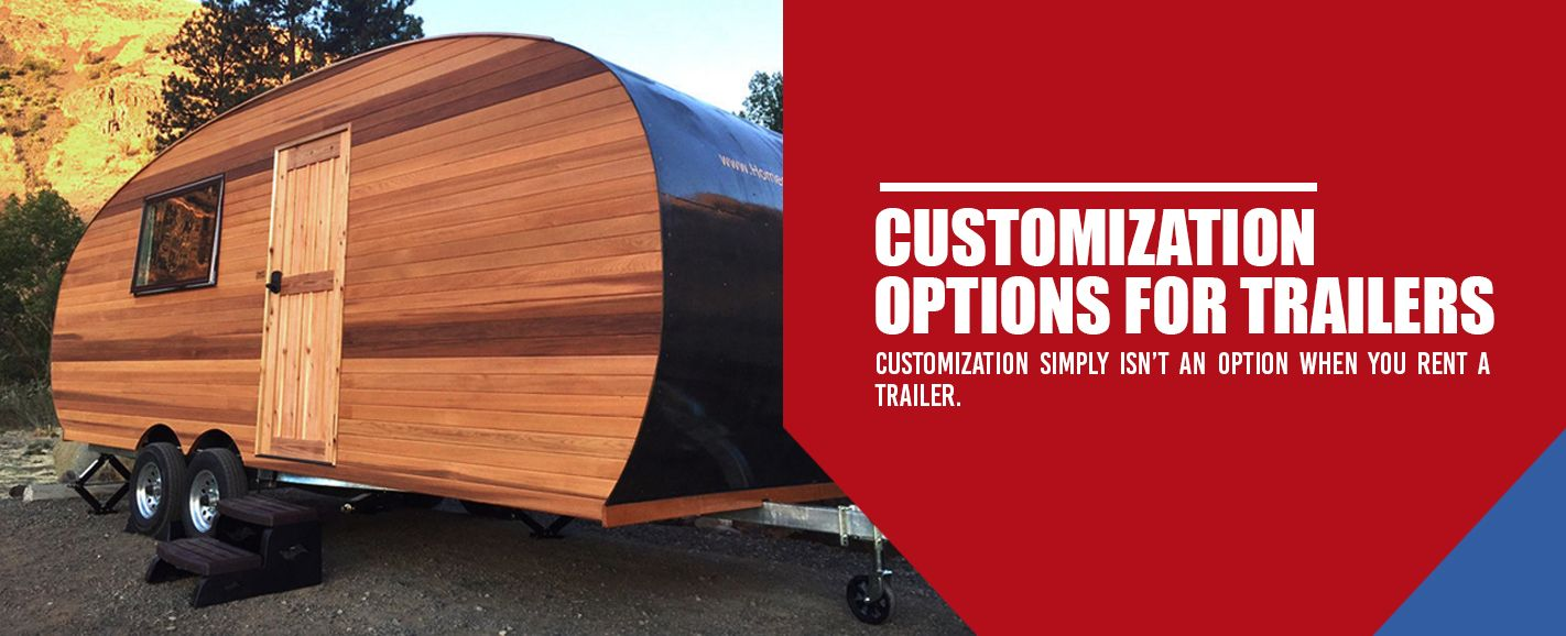 Customization Options for Trailers