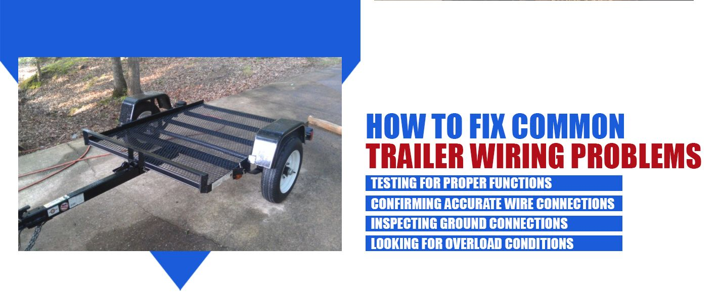how to fix trailer wiring problems