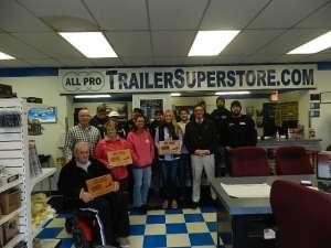 All Pro #1 CarMate Trailer Dealer 2014