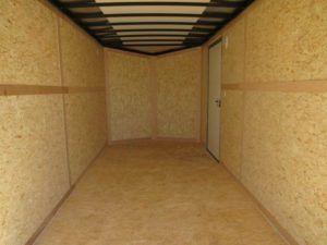 Inside of Nighthawk enclosed cargo trailer