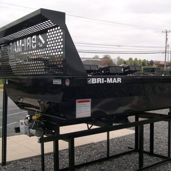black bri mar dump bed trailer insert