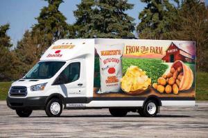 Custom design trailer for Martin's