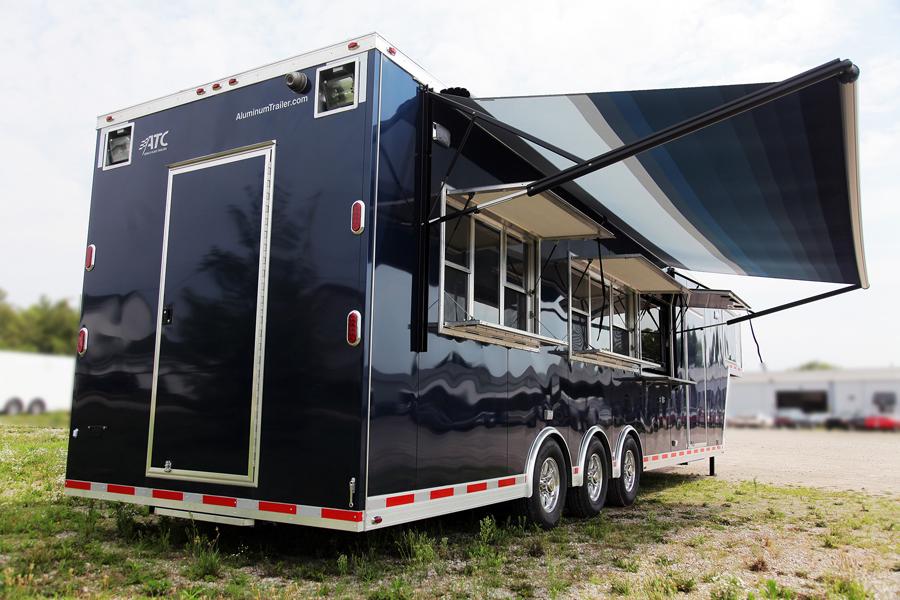 ATC Mobile Kitchen Custom Trailer