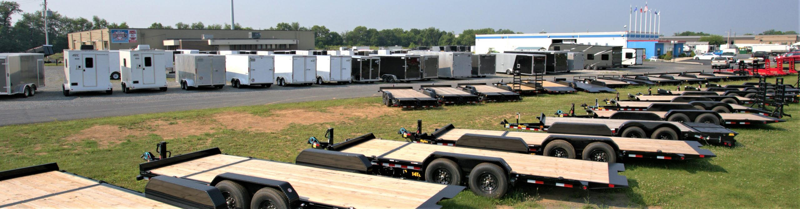 front trailer lot
